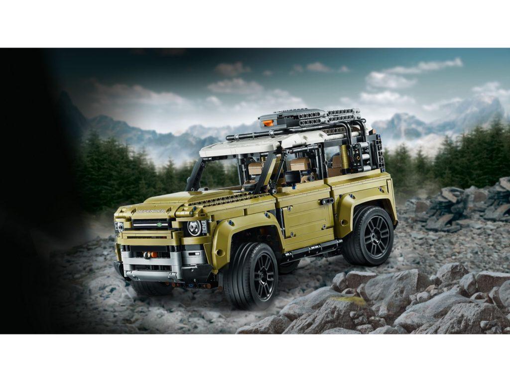 LEGO Technic 42110 Land Rover Defender - Bild 11 | ©LEGO Gruppe