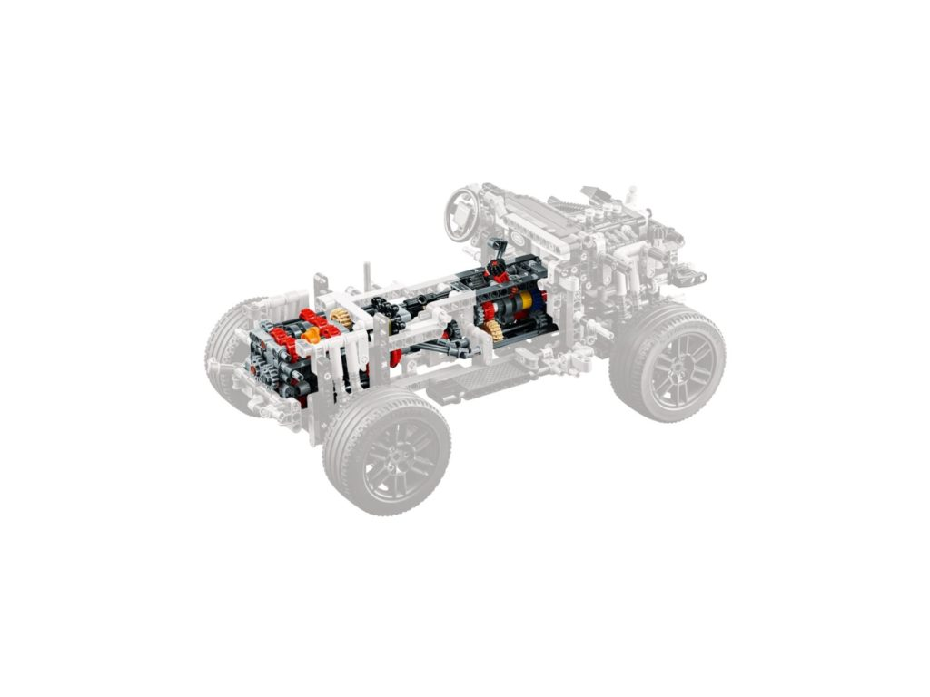 LEGO Technic 42110 Land Rover Defender - Bild 13 | ©LEGO Gruppe