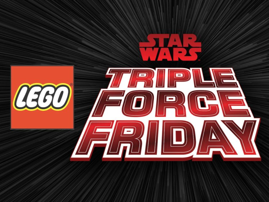 LEGO Triple Force Friday 2019 - Titelbild | ©LEGO Gruppe