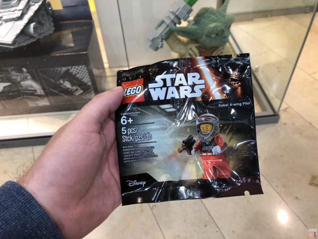 LEGO Star Wars A-Wing Pilot Polybag | ©2019 Brickzeit