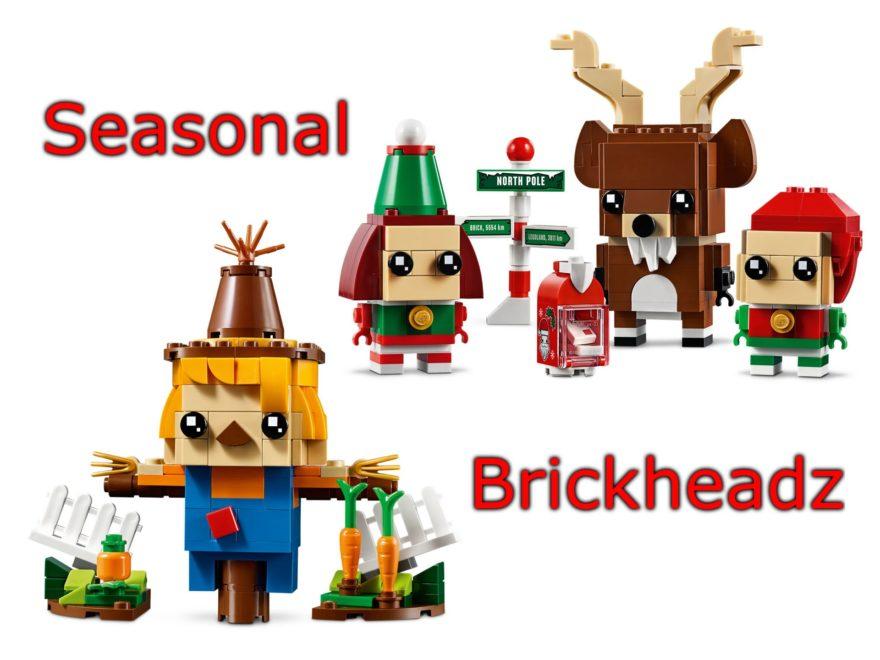 LEGO Seasonal Brickheadz Oktober 2019 | ©LEGO Gruppe