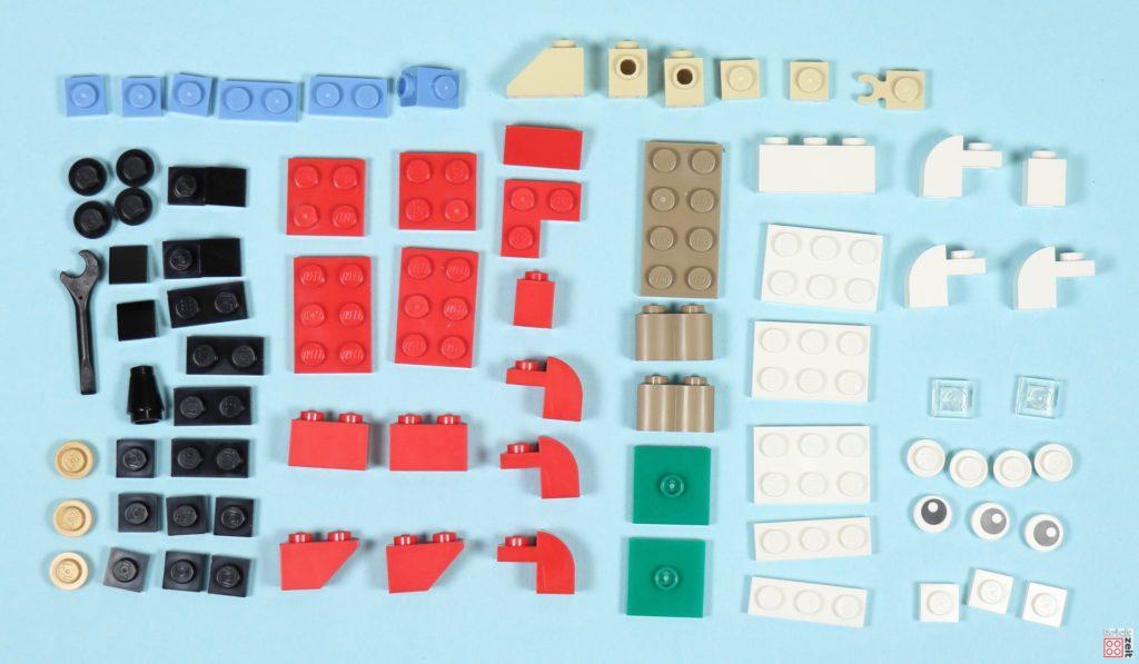 LEGO® Creator 30573 Weihnachtsmann - Polybag, Inhalt | ©2019 Brickzeit