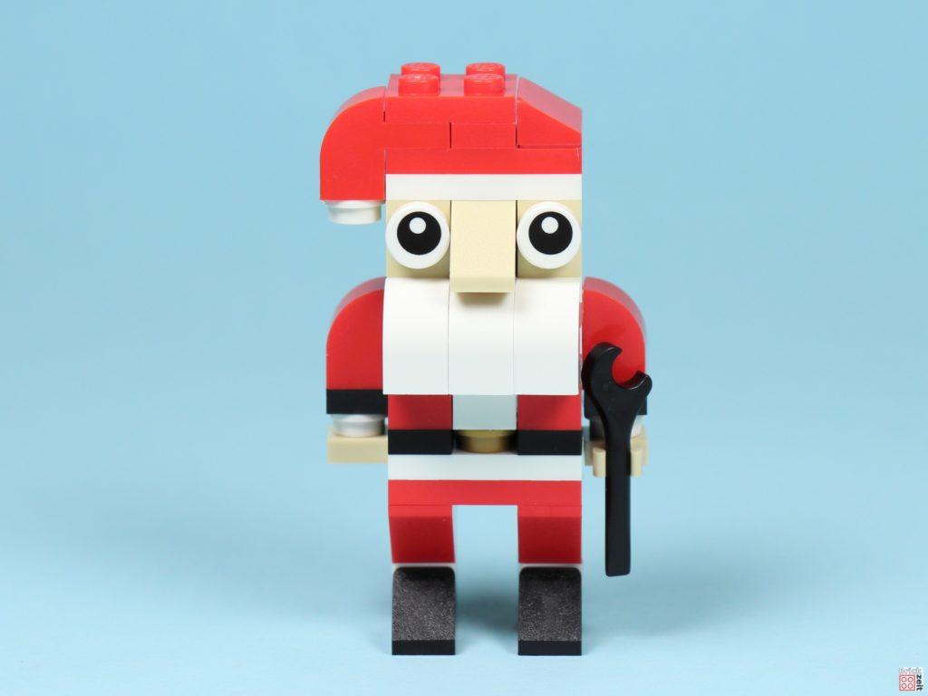 LEGO® Creator 30573 Weihnachtsmann - Vorderseite | ©2019 Brickzeit