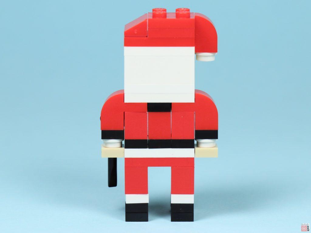 LEGO® Creator 30573 Weihnachtsmann - Rückseite | ©2019 Brickzeit