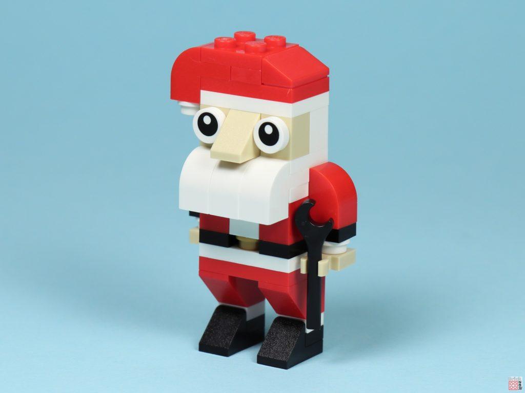 LEGO® Creator 30573 Weihnachtsmann - vorne links | ©2019 Brickzeit