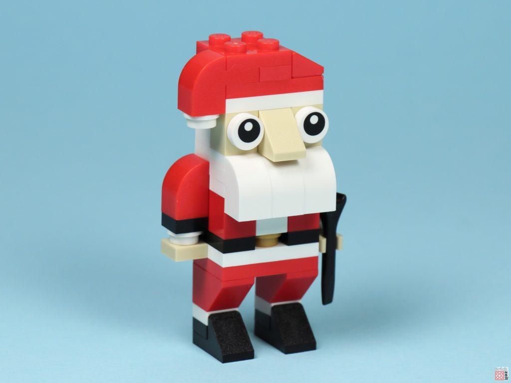 LEGO® Creator 30573 Weihnachtsmann - vorne rechts | ©2019 Brickzeit