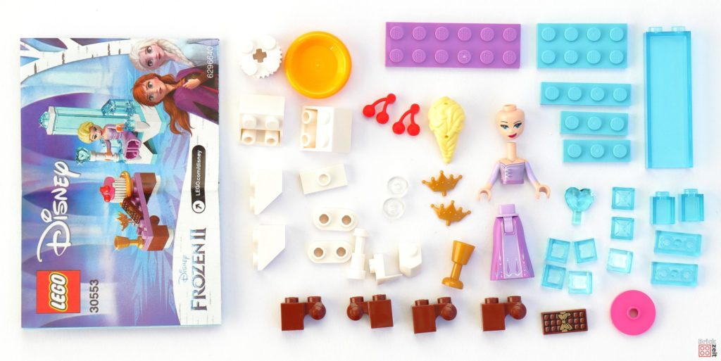 LEGO Disney Frozen 30553 Elsa's Winter Throne - Polybag Inhalt | ©LEGO Gruppe