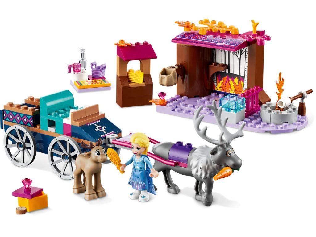 LEGO® Disney 41166 Elsa und die Rentierkutsche | ©LEGO Gruppe