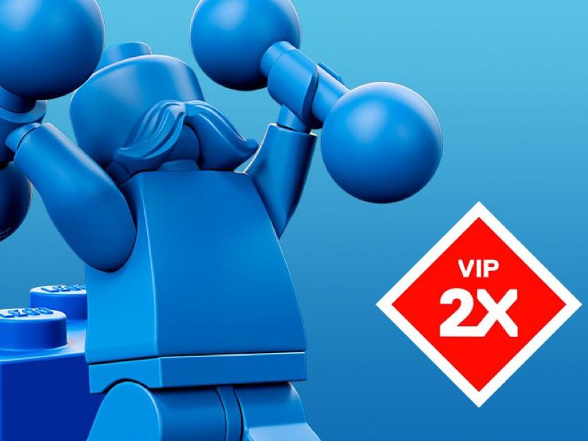 Doppelte LEGO® VIP-Punkte im Oktober 2019 | ©LEGO Gruppe