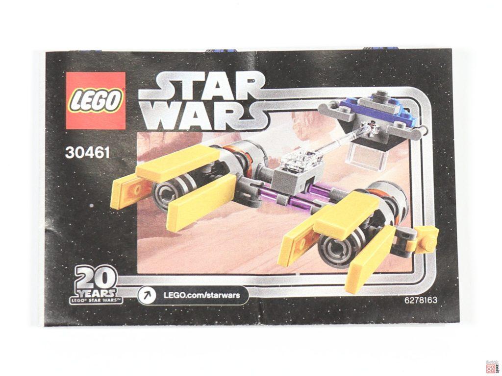 LEGO® Star Wars™ 30461 Podracer Polybag - Anleitung | ©2019 Brickzeit
