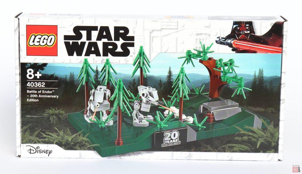 LEGO® Star Wars™ 40362 Schlacht von Endor - Packung Vorderseite | ©2019 Brickzeit