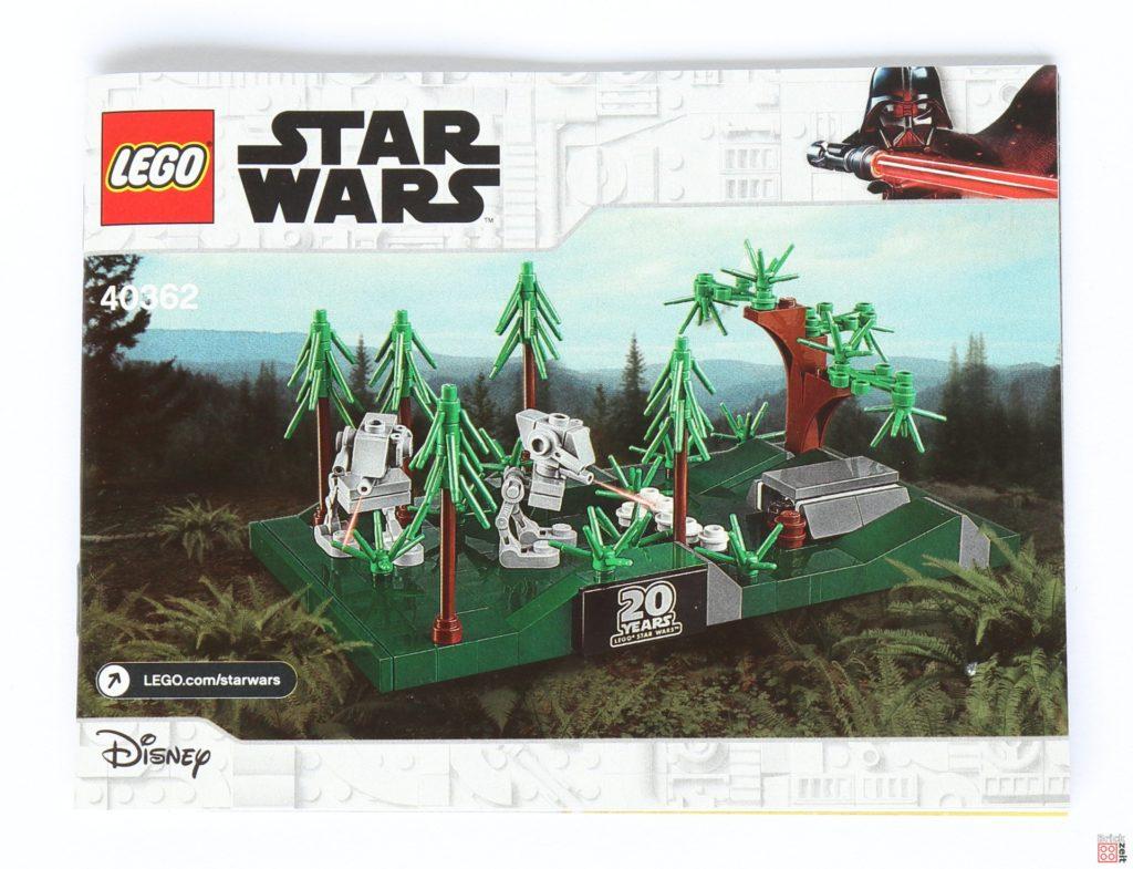 LEGO® Star Wars™ 40362 Schlacht von Endor - Inhalt, Anleitung | ©2019 Brickzeit