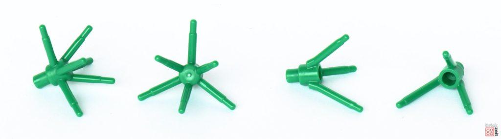 LEGO® Star Wars™ 40362 Schlacht von Endor - Inhalt, Pflanzenteile | ©2019 Brickzeit