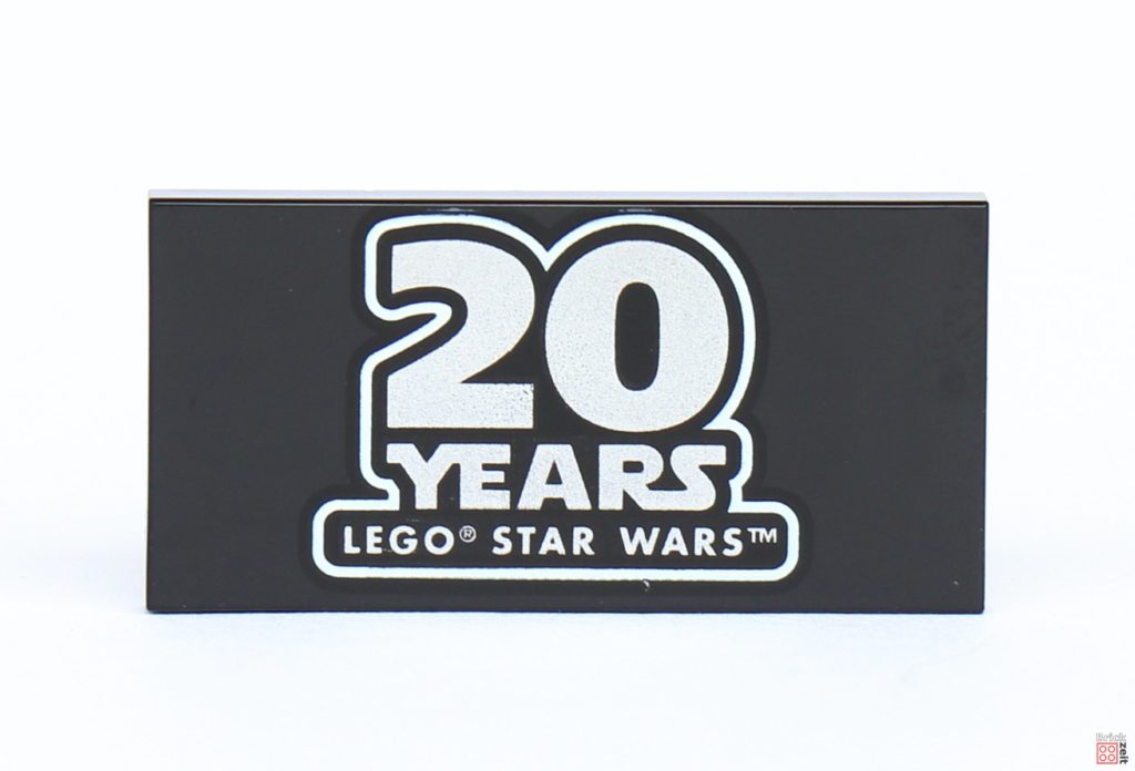LEGO® Star Wars™ 40362 Schlacht von Endor - Inhalt, 20 Jahre Fließe | ©2019 Brickzeit