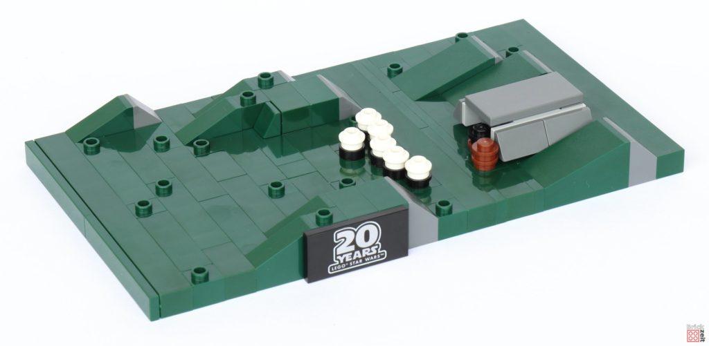 LEGO® Star Wars™ 40362 Schlacht von Endor - Bau, Bunker auf Boden | ©2019 Brickzeit
