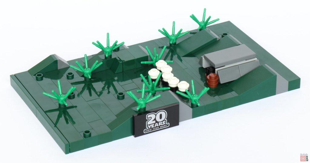 LEGO® Star Wars™ 40362 Schlacht von Endor - Bau, Büsche | ©2019 Brickzeit