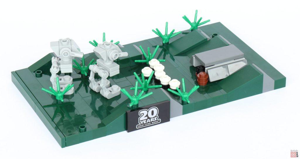 LEGO® Star Wars™ 40362 Schlacht von Endor - AT-ST kommen auf das Schlachtfeld | ©2019 Brickzeit