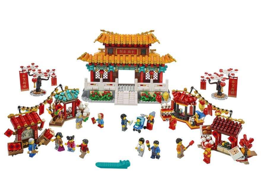 LEGO® 80105 Tempelmarkt - Titelbild | ©LEGO Gruppe