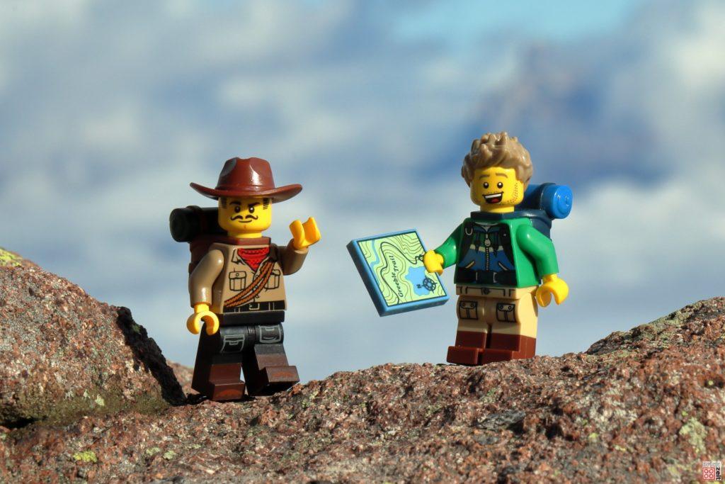 Die Wanderer haben sich wohl verirrt. | ©2019 Brickzeit
