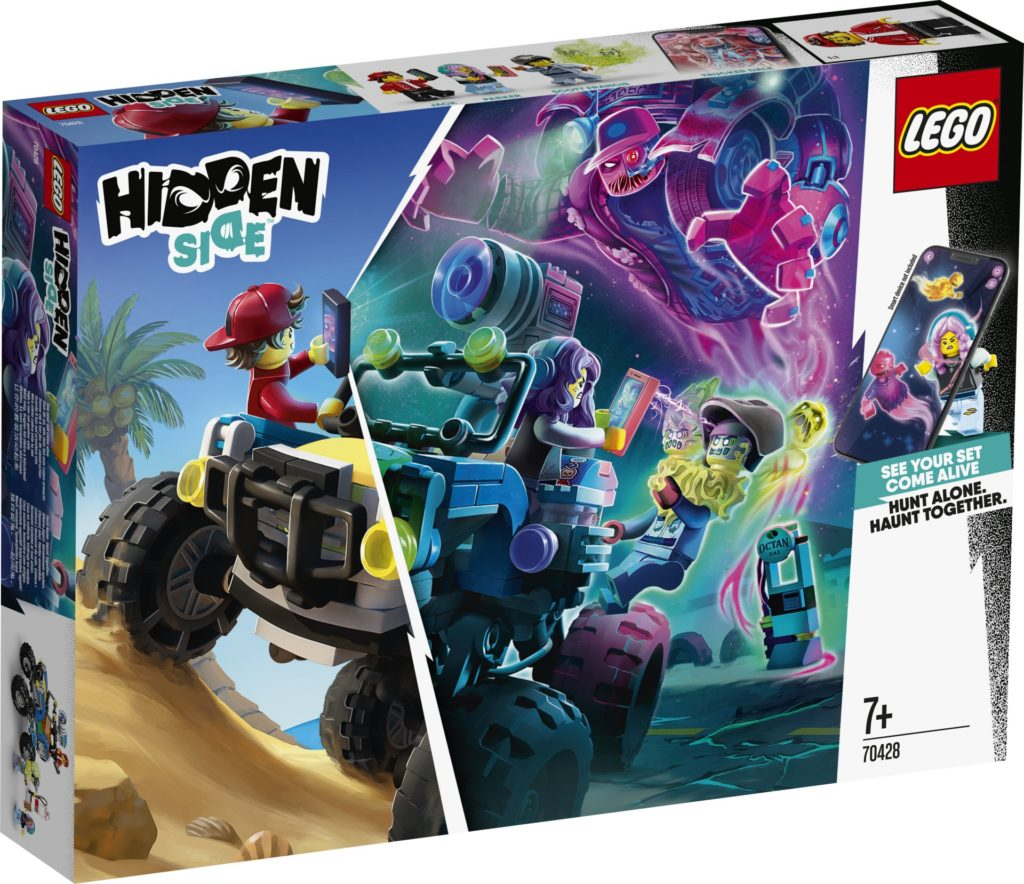 LEGO® Hidden Side™ 70428 Jacks Strandbuggy | ©LEGO Gruppe