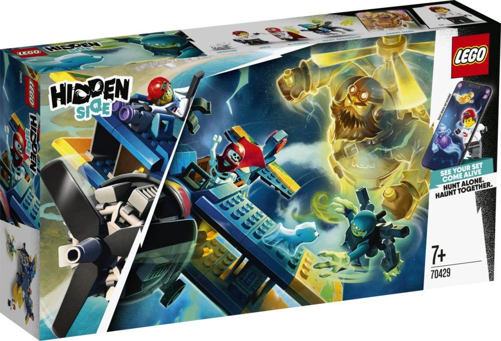 LEGO® Hidden Side™ 70429 El Fuegos Stunt-Flugzeug | ©LEGO Gruppe