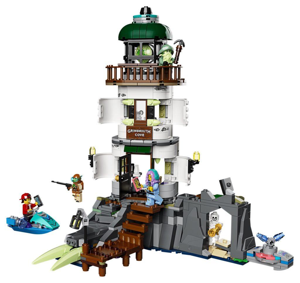 LEGO® Hidden Side™ 70431 Der Leuchtturm der Dunkelheit | ©LEGO Gruppe