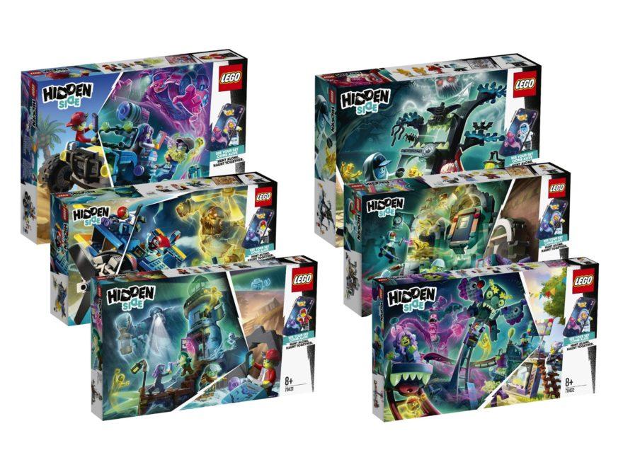 LEGO® Hidden Side™ Neuheiten Januar 2020 | ©LEGO Gruppe