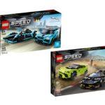 LEGO® Speedchampions 76898 Jaguar und 76899 Lamborghini - Titelbild | ©LEGO Gruppe