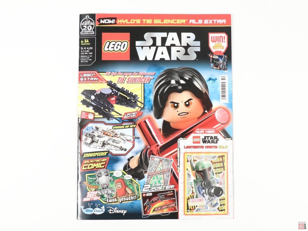 LEGO® Star Wars™ Magazin Nr. 54 (Dezember 2019) - Cover | ©2019 Brickzeit