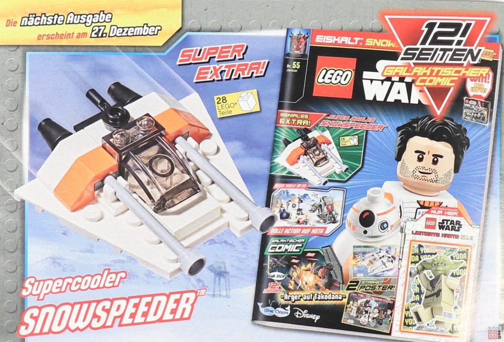 LEGO® Star Wars™ Magazin Nr. 54 (Dezember 2019) - Heftvorschau Nr. 55 | ©2019 Brickzeit