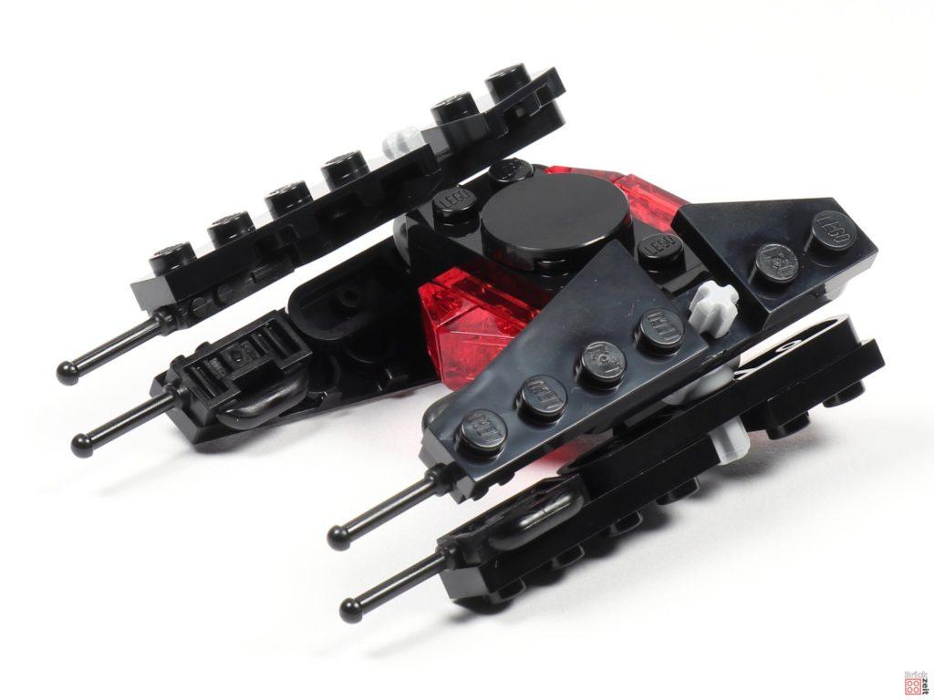LEGO® Star Wars™ Magazin Nr. 54 (Dezember 2019) - TIE Silencer, Aufbau fertig | ©2019 Brickzeit