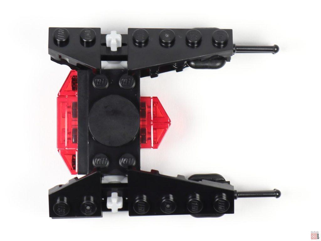LEGO® Star Wars™ Magazin Nr. 54 (Dezember 2019) - TIE Silencer, Draufsicht | ©2019 Brickzeit