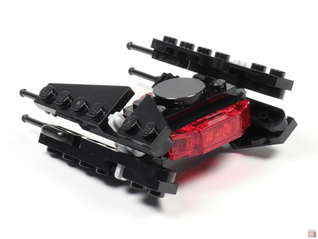 LEGO® Star Wars™ Magazin Nr. 54 (Dezember 2019) - TIE Silencer, hinten links | ©2019 Brickzeit