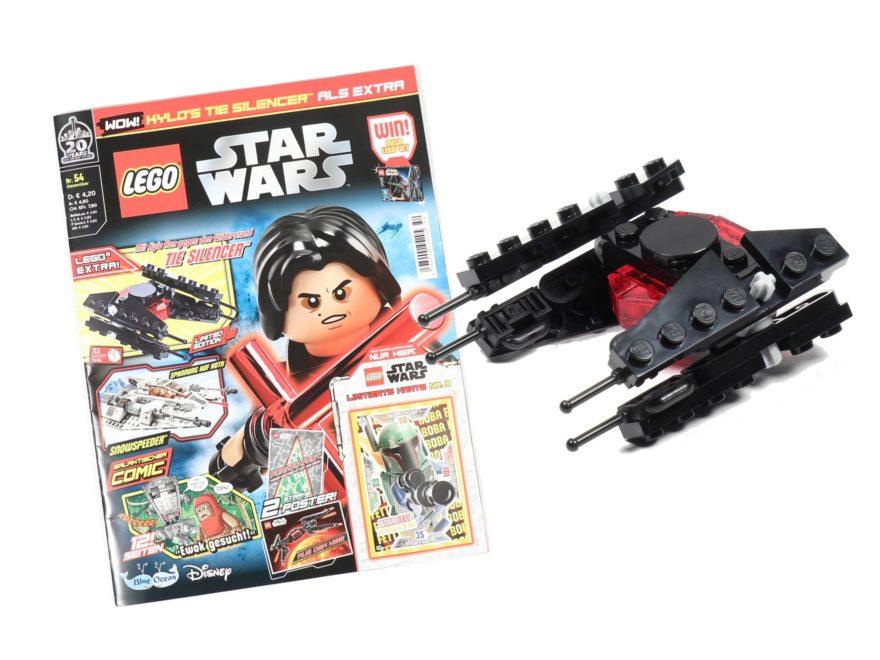 LEGO® Star Wars™ Magazin Nr. 54 (Dezember 2019) - Titelbild | ©2019 Brickzeit