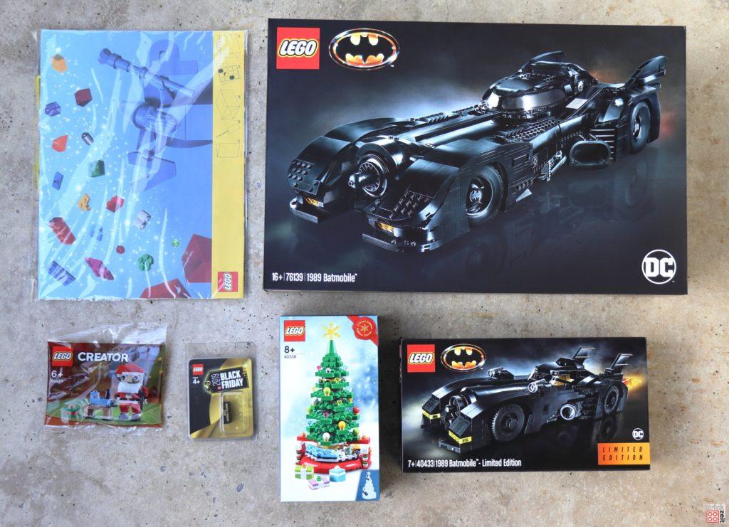 Ja ist denn heut schon Weihnachten. Die Ausbeute | ©2019 Brickzeit
