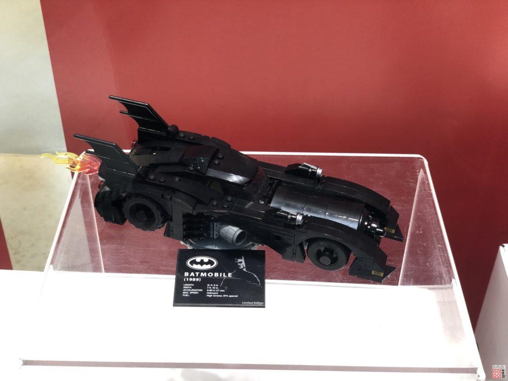 LEGO 40433 Mini-Batmobile im Schaufenster | ©2019 Brickzeit