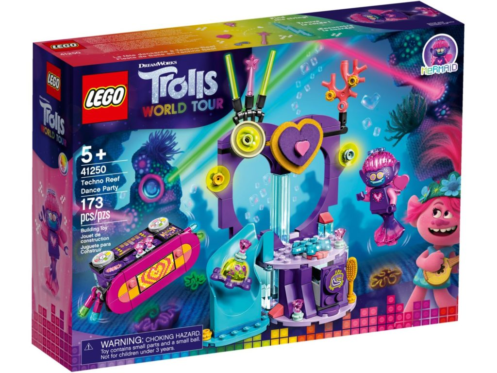 LEGO® TROLLS WORLD TOUR 41250 Party am Techno Riff | ©LEGO Gruppe