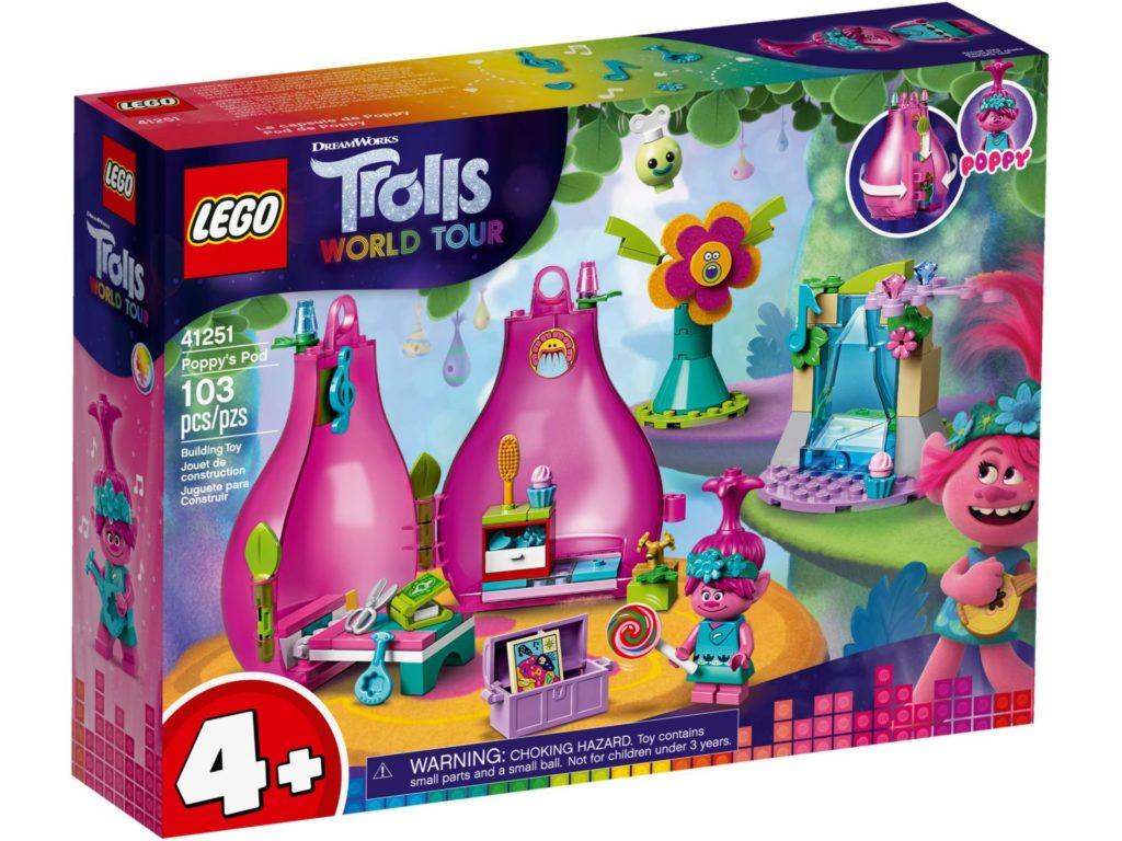 LEGO® TROLLS WORLD TOUR 41251 Poppys Wohnblüte | ©LEGO Gruppe