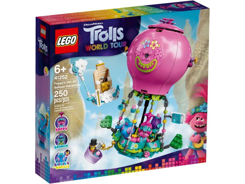 LEGO® TROLLS WORLD TOUR 41252 Poppys Heißluftballon | ©LEGO Gruppe