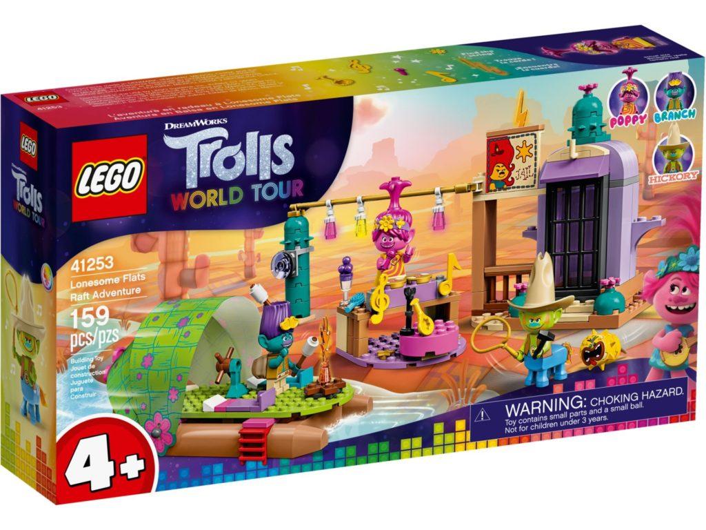 LEGO® TROLLS WORLD TOUR 41253 Floßabenteuer in Einsamshausen | ©LEGO Gruppe