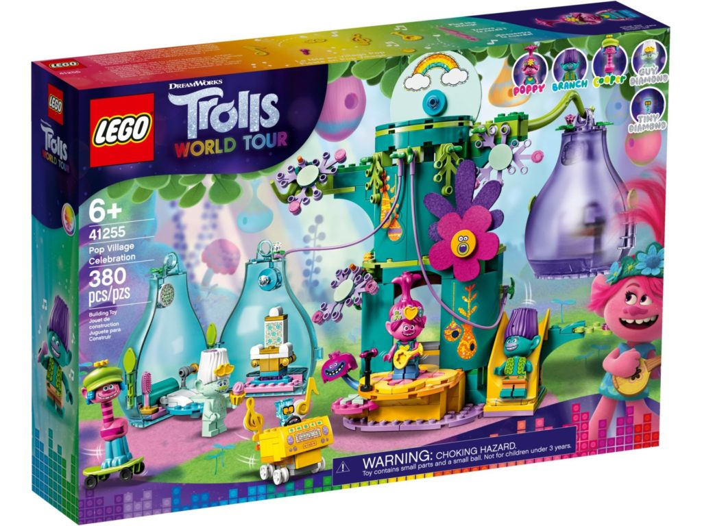 LEGO® TROLLS WORLD TOUR 41255 Party in Pop City | ©LEGO Gruppe