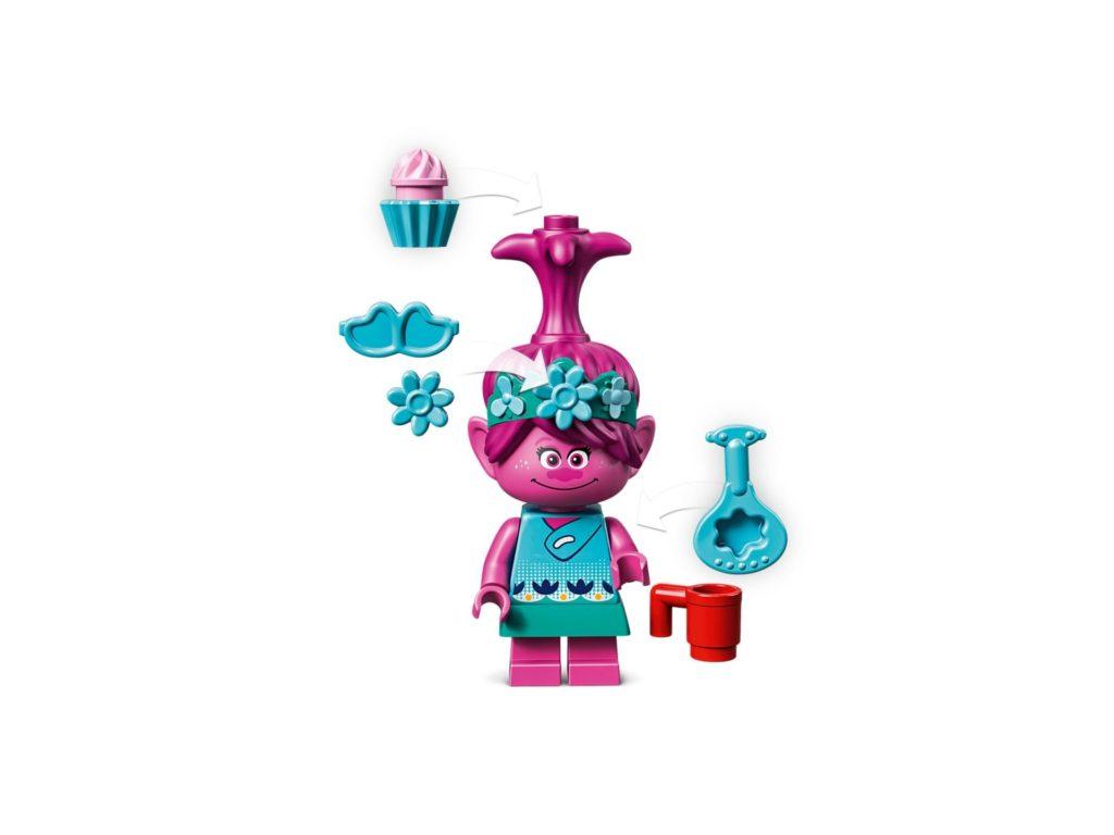 LEGO® TROLLS WORLD TOUR 41256 Regenbogen-Raupenbus | ©LEGO Gruppe