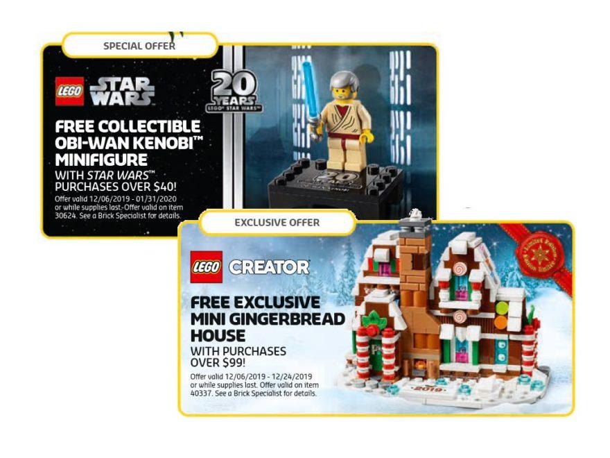 LEGO Store Kalender Dezember 2019 mit neuen Gratisbeigaben - Titelbild