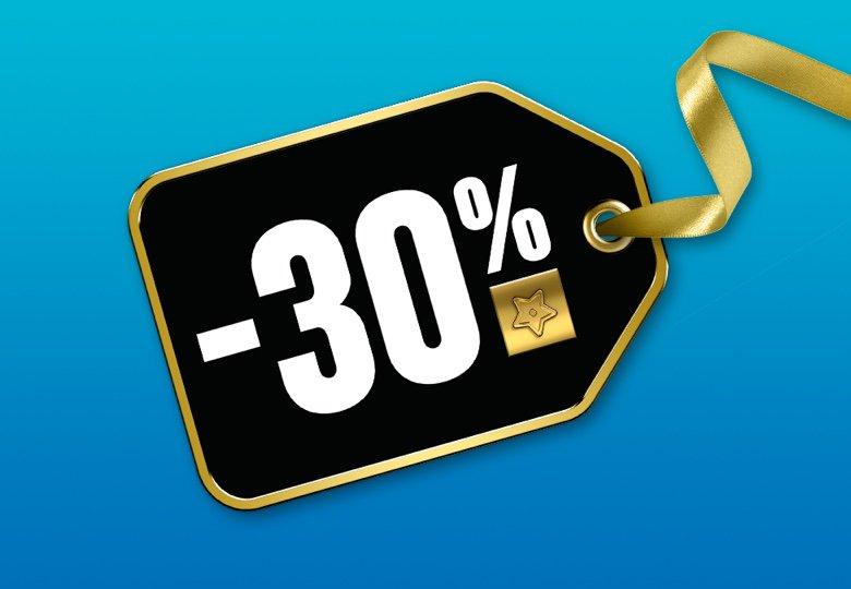 30% Rabatt auf ausgewählte Sets | ©LEGO Gruppe