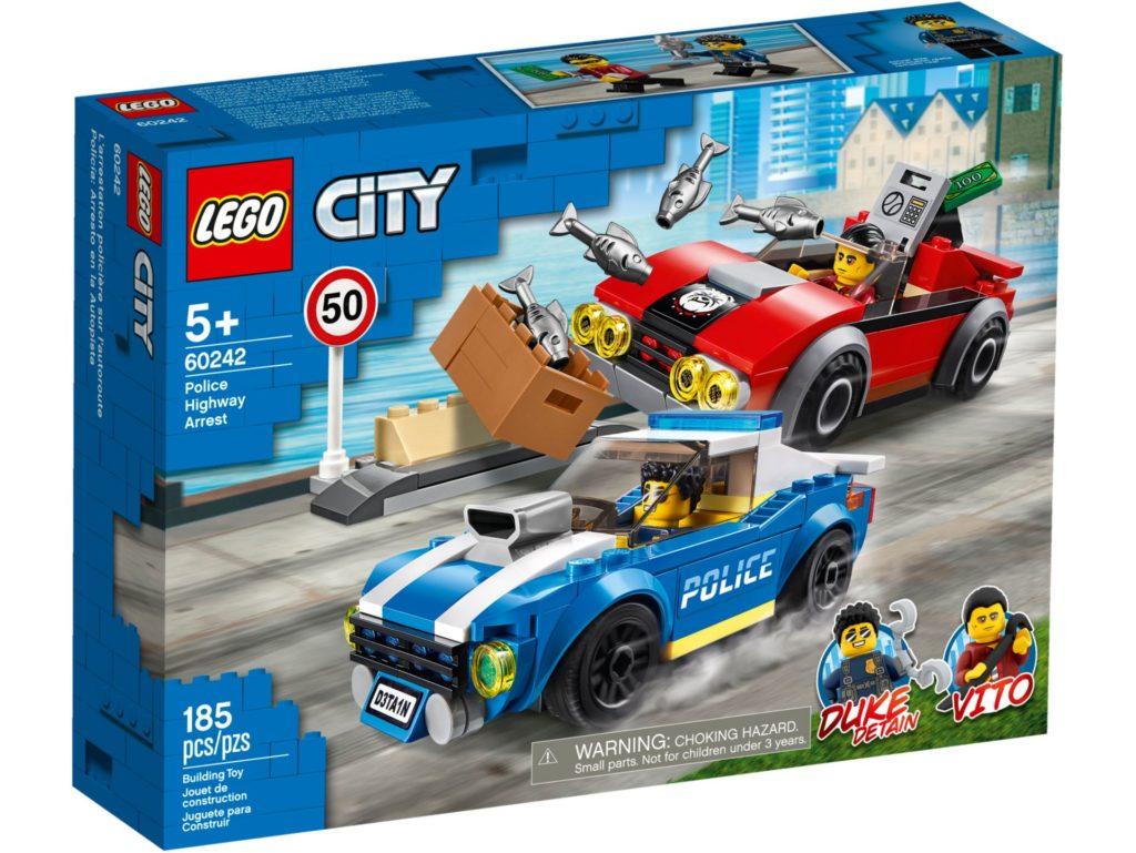 LEGO® City 60242 Festnahme auf der Autobahn | ©LEGO Gruppe