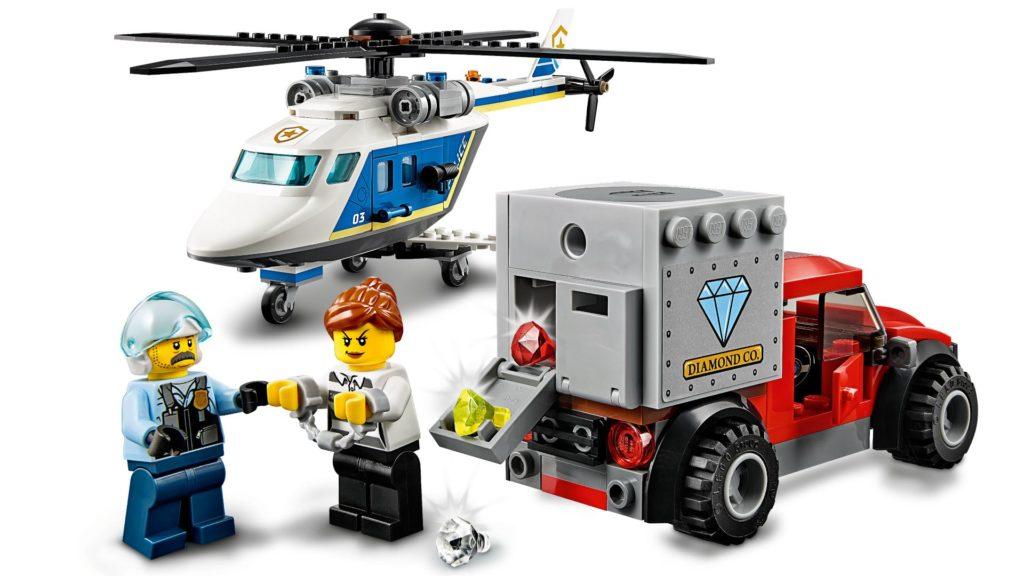 LEGO® City 60243 Verfolgungsjagd mit dem Polizeihubschrauber | ©LEGO Gruppe