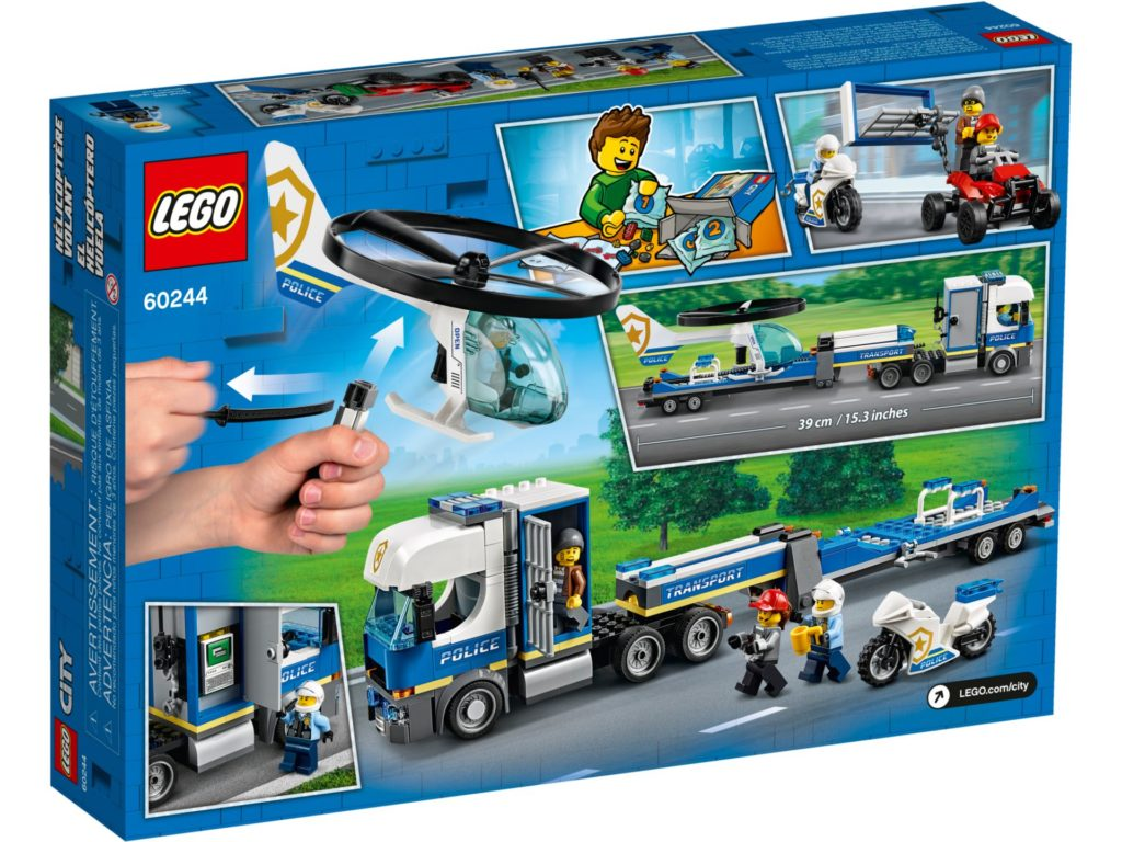 LEGO® City 60244 Polizeihubschrauber-Transport | ©LEGO Gruppe