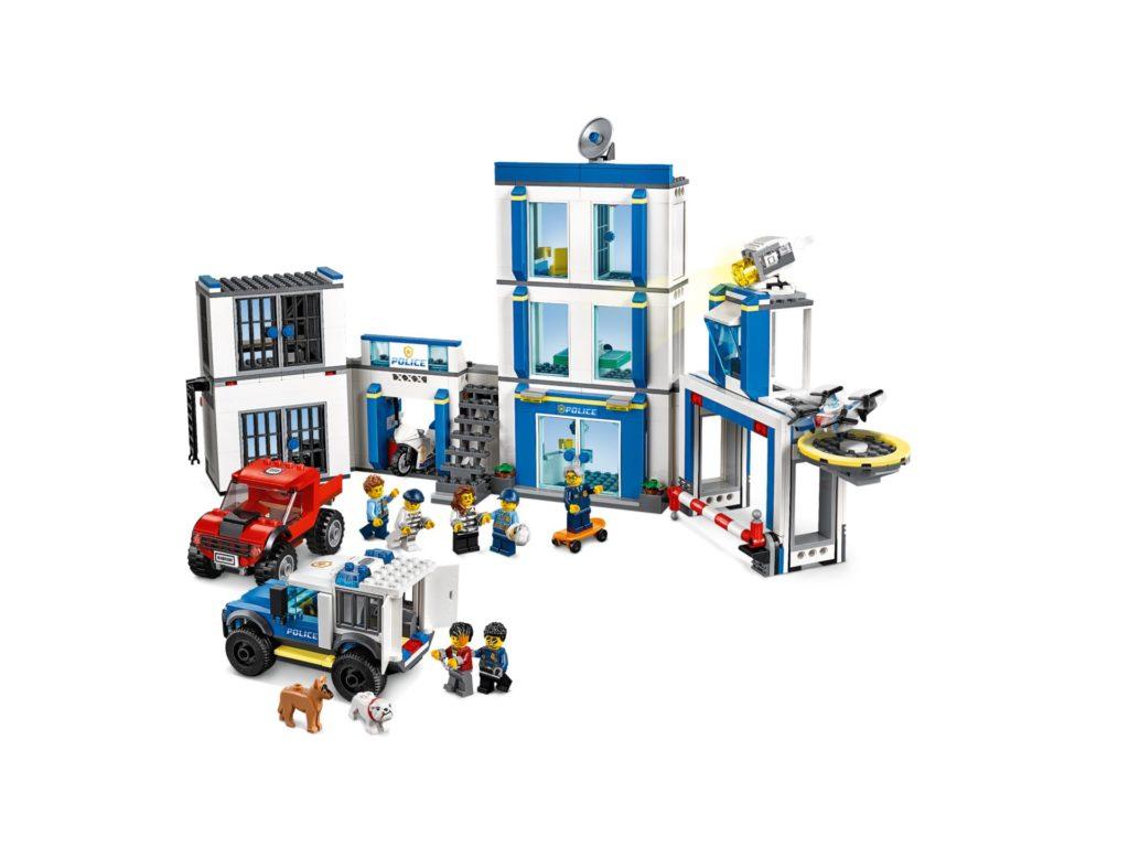 LEGO® City 60246 Polizeistation | ©LEGO Gruppe