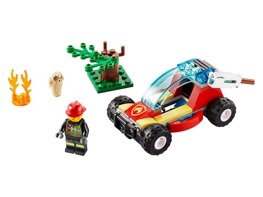 LEGO® City 60247 Waldbrand | ©LEGO Gruppe