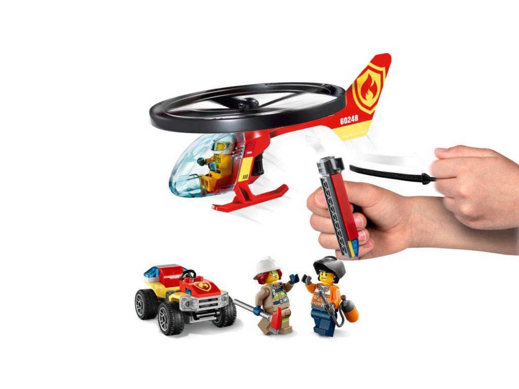 LEGO® City 60248 Einsatz mit dem Feuerwehrhubschrauber | ©LEGO Gruppe